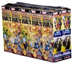 Picture of Marvel Heroclix Avengers/Defenders War Booster Brick