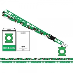 Picture of Green Lantern Symbol Lanyard