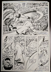 Picture of George Perez Fantastic Four Annual #15, Page 17 Original Art