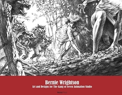 Picture of Bernie Wrightson Art and Designs for the Gang Of Seven Animation Studio HC