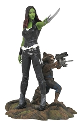 Picture of Guardians of the Galaxy Gamora & Rocket Raccoon PVC Figure