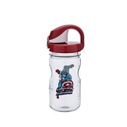 Picture of Captain America On the Fly Nalgene 12oz Kids Bottle