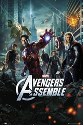 "Picture of Avengers Movie One Sheet 24""x36"" Poster"