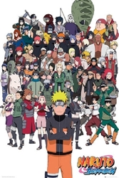 """Picture of Naruto Shippuden 24""""x36"""" Poster"""