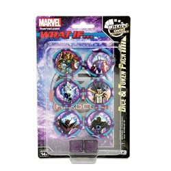 Picture of Marvel What If? HeroClix Dice & Token Pack