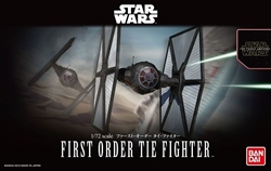 Picture of Star Wars Force Awakens First Order Tie Fighter 1/144 Model Kit