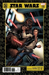 Picture of Star Wars (2015) #36 40th Anniversary Cover