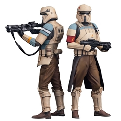 Picture of Star Wars Shore Trooper Squad Leader and Captain ArtFX+ Statue