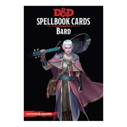 Picture of Dungeons & Dragons Role Playing Game Bard Spellbook Cards
