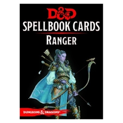 Picture of Dungeons & Dragons Role Playing Game Ranger Spellbook Cards