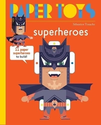 Picture of Super Heroes SC 11 Paper Superheroes to Build