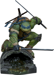 Picture of Teenage Mutant Ninja Turtles Leonardo Sideshow Statue