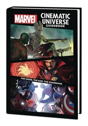 Picture of Marvel Cinematic Universe Guidebook Good, Bad, Guardians HC