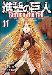Picture of Attack on Titan Before the Fall Vol 11 SC