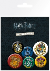 Picture of Harry Potter Button Badge Set of 6