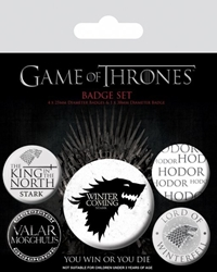 Picture of Game of Thrones Button Badge Set of 5