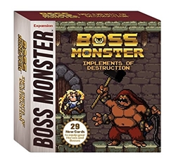 Picture of Boss Monster Card Game Implements of Destruction Expansion