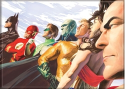 Picture of Alex Ross Justice League Magnet