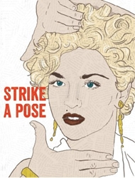Picture of Madonna Strike a Pose Birthday Card