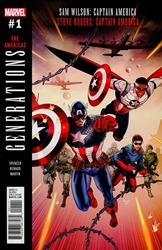 Picture of Generations Captain Americas #1