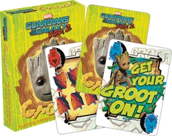 Picture of Baby Groot Guardians of the Galaxy Playing Cards