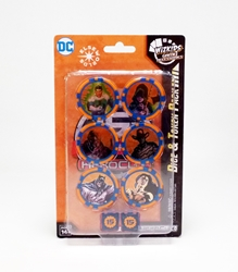Picture of DC 15th Anniversary Heroclix Dice and Token Pack