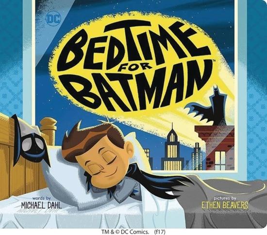 bedtimeforbatmanboardbook