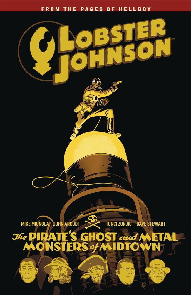 Lobster Johnson Vol 05 SC Pirate's Ghost