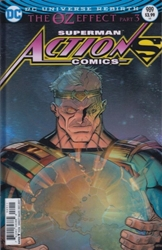 Picture of Action Comics #989 Lenticular Cover