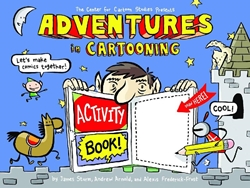 Picture of Adventures in Cartooning Activity Book SC