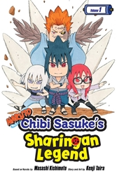 Picture of Naruto Chibi Sasuke's Sharingan Legend Vol 01 SC