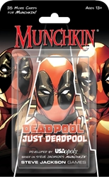 Picture of Munchkin Card Game Deadpool Just Deadpool Expansion
