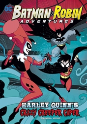 Picture of Batman and Robin Adventures Harley Quinn's Crazy Creeper Caper SC Chapter Book