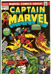 Picture of Captain Marvel #27
