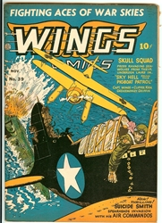 Picture of Wings Comics #39