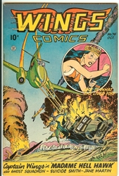 Picture of Wings Comics #74
