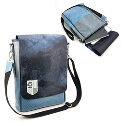 Picture of Destiny Guardian Crest Vertical Messenger Bag