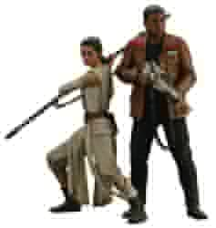 Picture of Star Wars Force Awakens Rey and Finn ArtFX+ Statue
