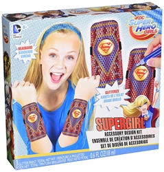 Picture of DC Super Hero Girls Supergirl Accessory Design Kit
