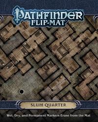 Picture of Pathfinder Role Playing Game Slum Quarter Flip-Mat