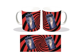Picture of Doctor Who TARDIS Swirl PX Coffee Mug