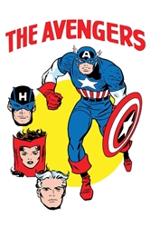 Picture of Avengers #672 Kirby/Heck 1965 T-Shirt Cover