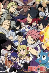 "Picture of Fairy Tail Grand Magic Games 24"" x 36"" Poster"