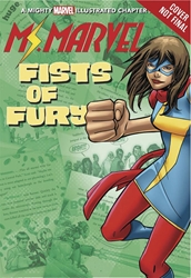 Picture of Ms Marvel's Fists of Fury Illustrated SC Chapter Book