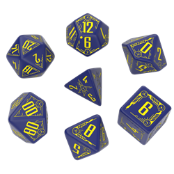 Picture of Galactic Navy/Yellow Dice Set