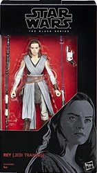 Picture of Star Wars Rey (Jedi Training) #44 Black Series Action Figure