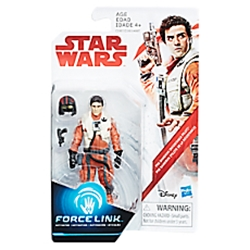 Picture of Star Wars Galaxy Poe Dameron Resistance Pilot Orange Wave 1 Figure