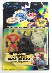 Picture of Batman Forever Deluxe Laser Disc Batman Action Figure