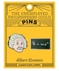 Picture of Albert Einstein & E=MC2 2 Pack Pin Set