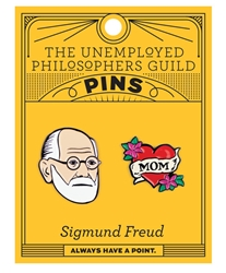 Picture of Sigmund Freud and Mom 2 Pack Pin Set
